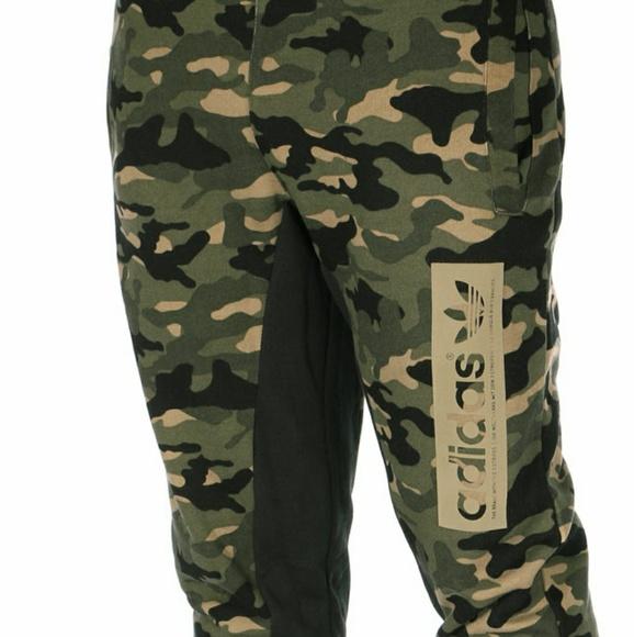 Adidas pantalones NWT Camo XL hombre  Joggers tamaño 2 XL Camo poshmark 3c557a